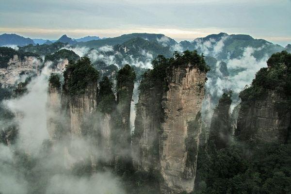 黄狮寨风景