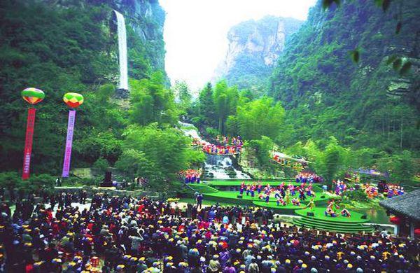 宝峰湖风景区