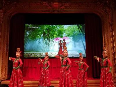 中国旅游走进瑞典诺贝尔颁奖殿堂