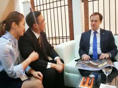 俄文化部长接见张家界大成俄罗斯国际马戏城 引国际关注