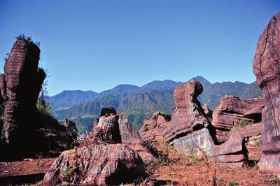张家界红石林国家石漠公园通过专家评审