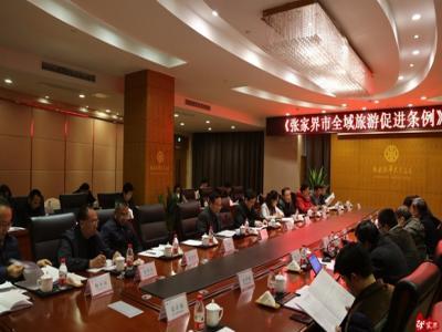 《张家界市全域旅游促进条例(草案)》专家咨询会举行