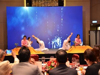 石门禅茶表演亮相香港国际旅游展大放异彩