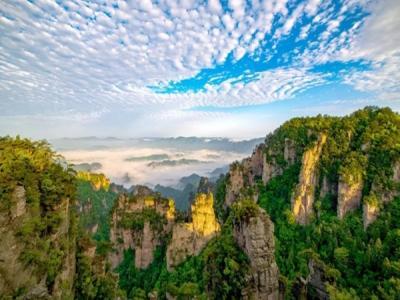 张家界世界地质公园国际国内姊妹公园纪实