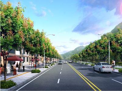 张家界武陵西路开工建设 概算投资1400万元