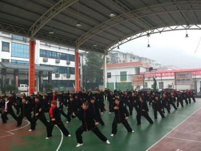 """武陵源区举办""""欢庆元旦、喜迎新春""""太极拳展演活动"""