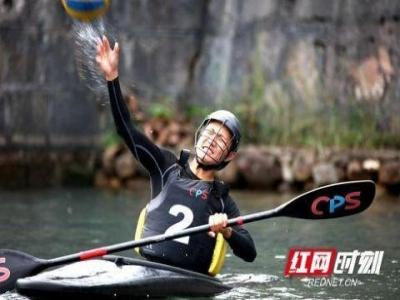 皮划艇运动员张家界备战第二届全国青年运动会
