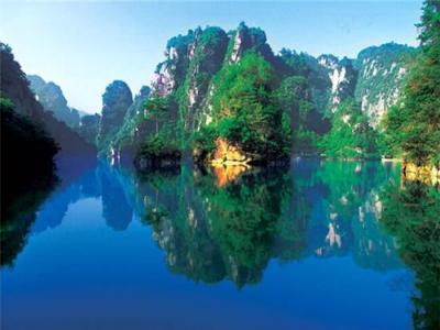 """张家界宝峰湖获评湖南省""""美丽河湖"""""""