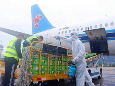 南航开通张家界至曼谷国际货运航班